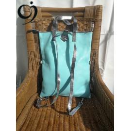 Variálható táska - kék árnyalatokban