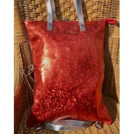 Variálható táska - piros árnyalatokban