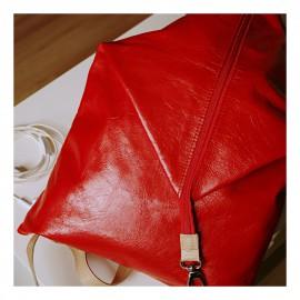 Variálható hátizsák - háromszög - piros