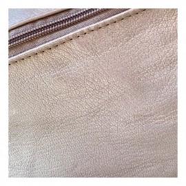 Bőr övtáska - koptatott mintákkal